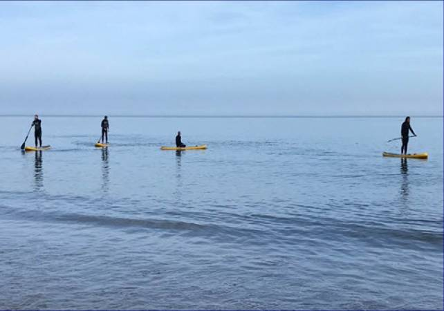Paddleboard Lessons  - All Ages Scarborough Image 1