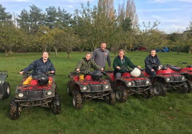 90 Minute Quad Bike Adventure  - West Malling, Kent Suitable for 11 years+ Image 6