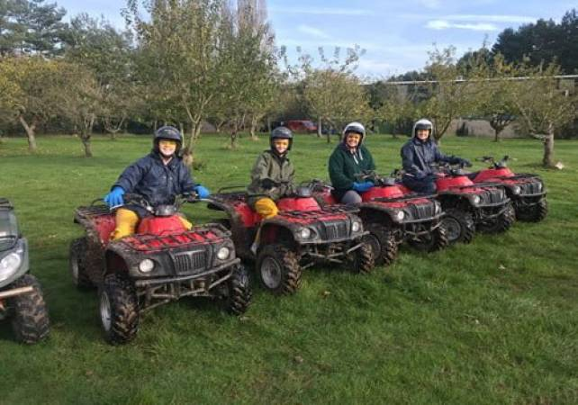 90 Minute Quad Bike Safari  - West Malling, Kent Suitable for 11 years+ Image 6