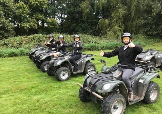 90 Minute Quad Bike Safari  - West Malling, Kent Suitable for 11 years+ Image 5