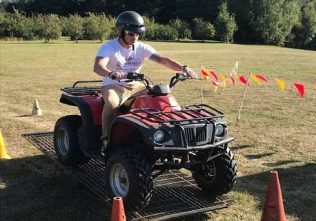 90 Minute Quad Bike Adventure  - West Malling, Kent Suitable for 11 years+ Image 2