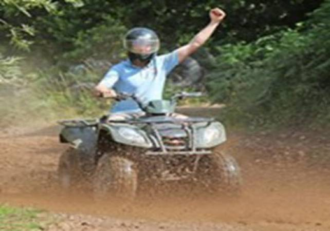Adult Quad Biking in Nottingham Fun Day Out Off Road Experience Image 3