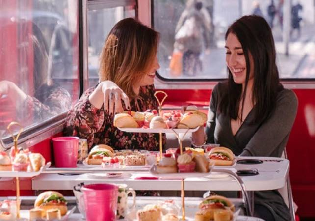 Afternoon Tea Bus B Bakery in London Voucher experience Image 5