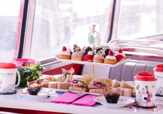 Afternoon Tea Bus B Bakery in London Voucher experience Image 4