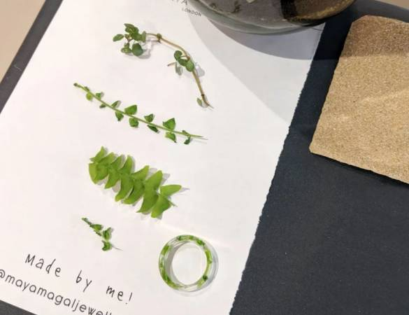 Two Hour Ring Making Terrarium Workshop London for all Levels Image 5