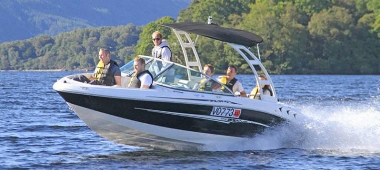 luxury speedboat tour on Loch Lomond in Scotland Image 2