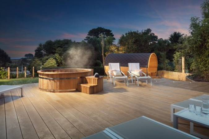 2 day Twilight spa break in a coastal resort in Cornwall Image 1