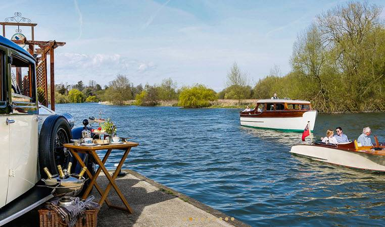 River Thames Cruise with Afternoon Tea Image 1