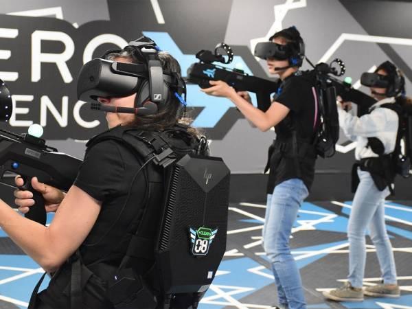 Outbreak Origins Free Roam Virtual Reality Experience Image 4