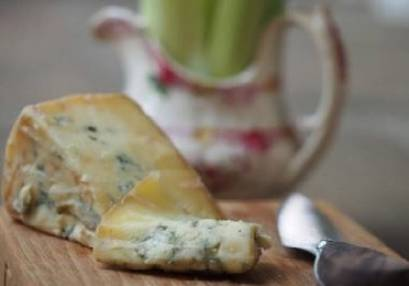 blue cheese on a board