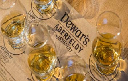 Whisky Distillery Connoisseur Tour Suitable over 18 Years + Perthshire