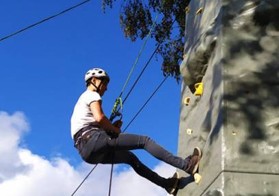 Climbing and Abseiling Stirlingshire - Leading OUtdoor Activity for 8 Years+ Image