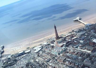 30 min Sightseeing Helicopter Tour Blackpool - LGE Image