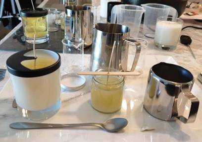 Candle Making with Afternoon Tea  - Kent, London Suitable for 18 years+ Image