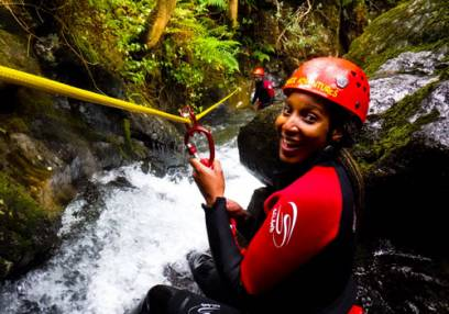 Canyoning at Stoney Canyon  in Lake District suitable for 12 years + Image