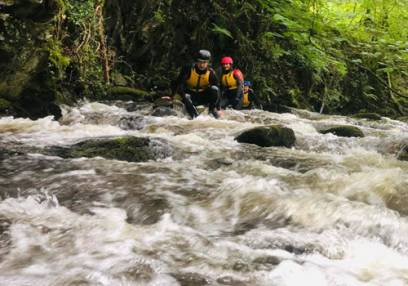 Canyoning in North Wales Day Out for the Family Things to Do Image