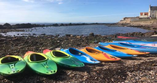 Canoeing at East Neuk Fife Suitable for 13 Years+ Gifts for Him & Her Image