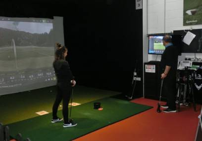 For Her: 1 Hour Golf Lesson @ Home of Golf Image