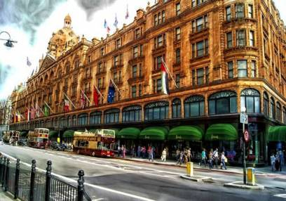 London Christmas Lights & Chauffeur Shopping Tour of London Image