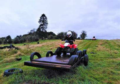 Junior Quad Biking Stirlingshire 30mins for aged 10-15 yrs Image
