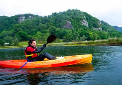 Day Out River Kayaking in the Lake District for the Family - age 10yrs + Image