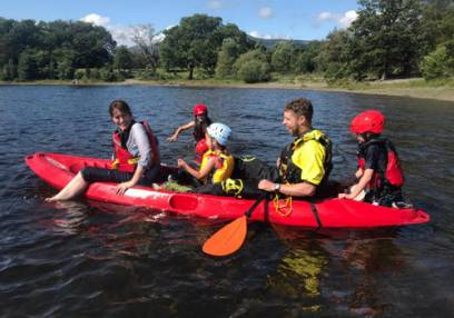 Gorge Walking & River Tubing in one of Stirlingshire's rivers