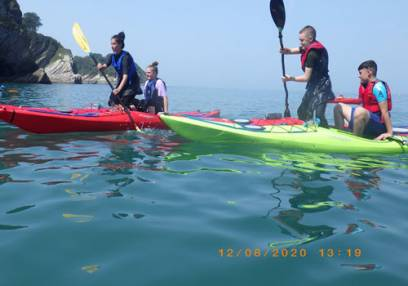 Sea Kayaking in Braunton, North Devon for Intermediates & Beginners Image