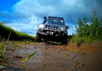 Junior Off Road Driving for 13-16yrs Trossachs Stirlingshire Image