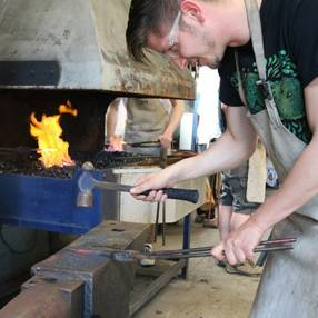 Blacksmith Half Day Experience  - Unique Fun Day Out in Hereford Image