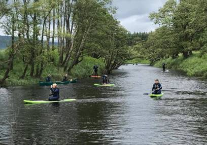 Paddle Sports Canoeing, Kayaking & Paddle Boarding Trossachs - 6yrs+ Image