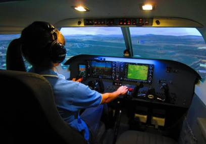 Piper PA28 Cherokee Flight Simulator Newcastle, Suitable All Ages Image