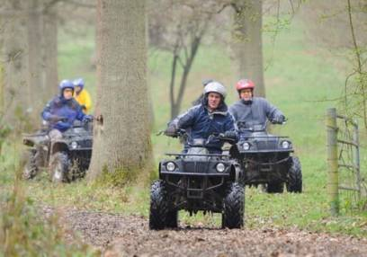 2 Hour Quad Biking and Apache Rally Driving  - Kent for 11 years+ Image