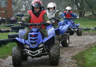 Junior Quad Biking in Nottingham for age 6-14 Years inclusive Image