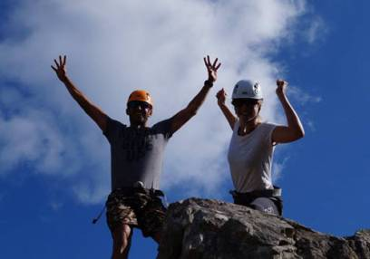 Added Half Day Rock Climbing and Abseiling To Basket