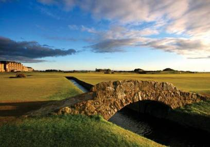 Golf Gifts For Him 1 Hour Lesson & 18 Holes with a Pro @ St Andrews