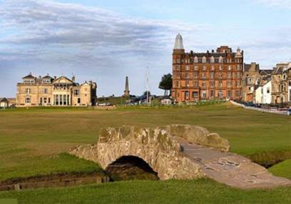 Golf Gifts For Her 1 Hour Lesson & 18 Holes with a Pro @ St Andrews