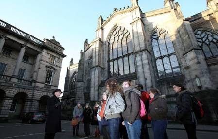 Added Secrets of Edinburgh's Royal Mile Tour To Basket