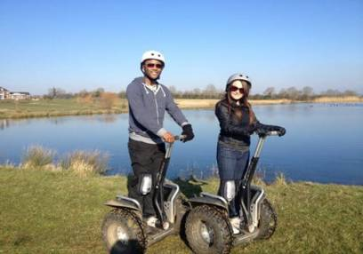 Segway Experience  Milton Keynes, with groups of up to 8 people Image