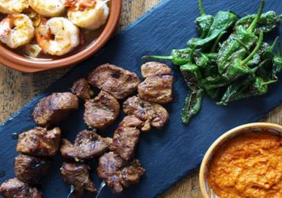 3 Hour Spanish Tapas Cookery Class  South West London Image