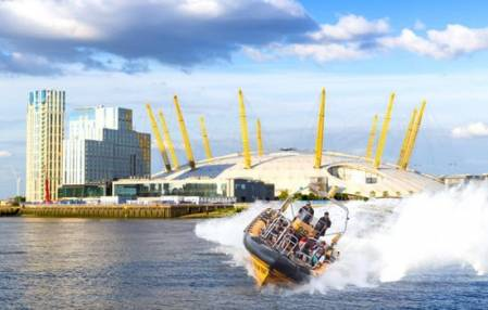 Ultimate O2 RIB Blast on the Thames  - Exhilarating Rib Ride London Image