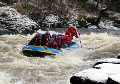 Added White Water Rafting 2.5 Hours To Basket