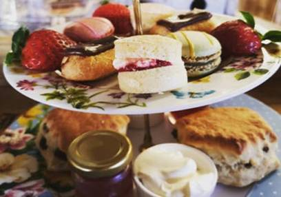 Deluxe Afternoon Tea Black Sheep Tearoom, Lytham