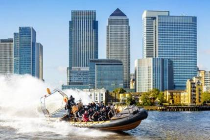Canary Wharf RIB Experience on Thames  - Exhilarating Rib Ride London Image