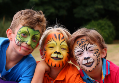 Face Painting class will introduce you to Face Painting London and Kent Image