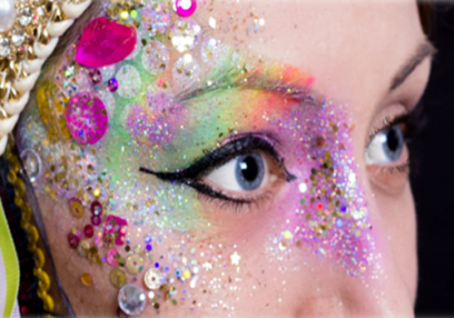Fantastic one day Glitter and Festival Make Up Course London and Kent Image