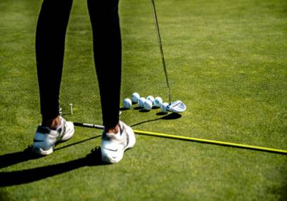Added For Her: Golf Lesson & Play 18 Holes with a PGA Pro To Basket