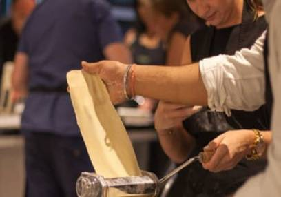 Evening Italian Cookery Class Leading Cookery School London Image