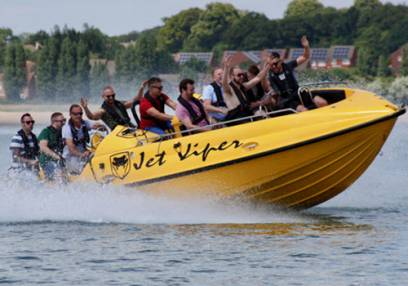 Added 60 Min Jet Viper Boat Thrill Ride To Basket