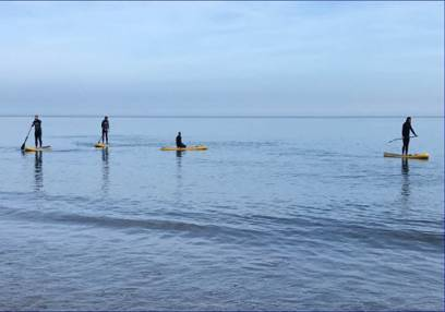 Paddleboard Lessons  - All Ages Scarborough Image