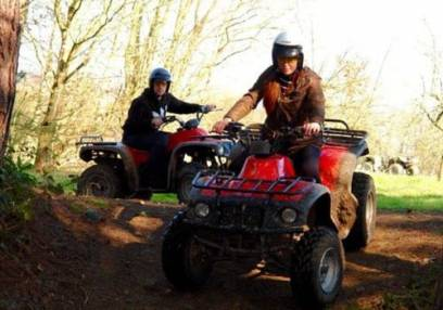 90 Minute Quad Bike Adventure  - West Malling, Kent Suitable for 11 years+ Image